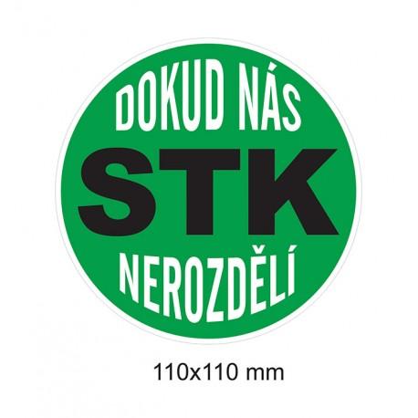 Magnet Dokud nás STK nerozdělí (zelená)