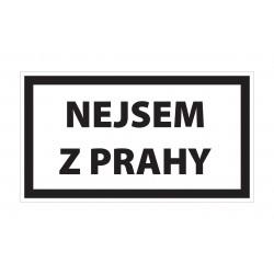Magnet Nejsem z Prahy