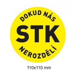 Magnet Dokud nás STK nerozdělí (žlutá)