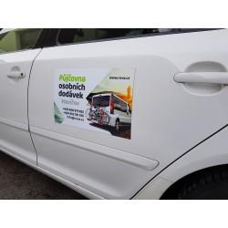 Reklamní magnet na auto A3
