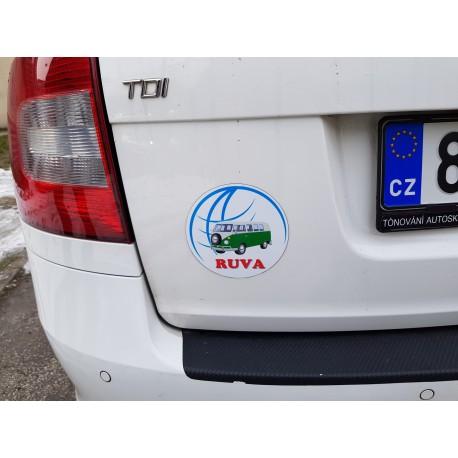 Reklamní magnet na auto - vlastní velikost